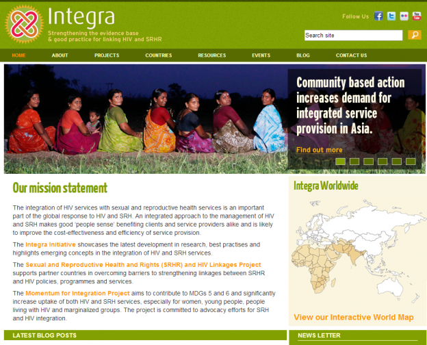 Integra Initiative website icon