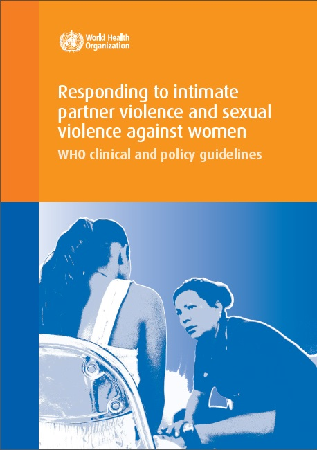 COVER WHO clincal policy gdlines initimate partner violence