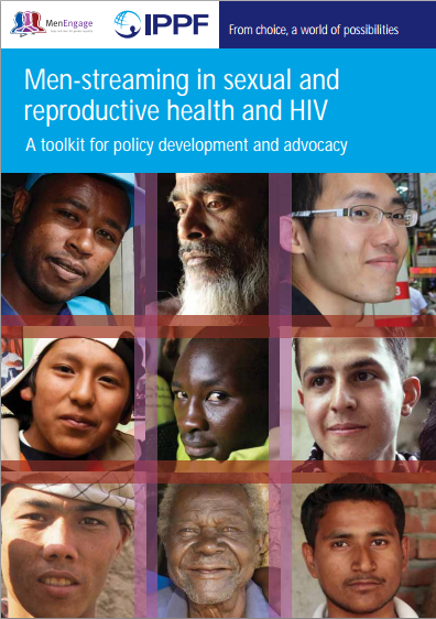 COVER men streaming in SRH and HIV 2010