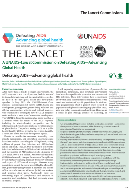 Defeating AIDS Advancing global health IMAGE