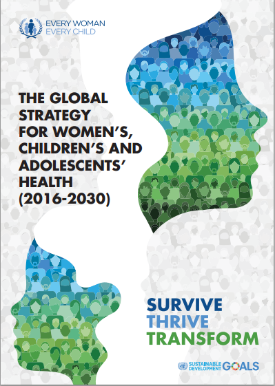 Global Strategy for Womens Childrens and Adolescents Health 2016_2030 image