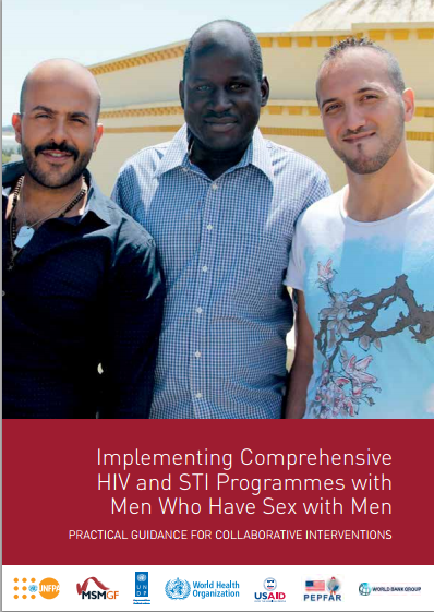 Implementing Comprehensive HIV and STI Programmes with Men Who Have Sex with Men image