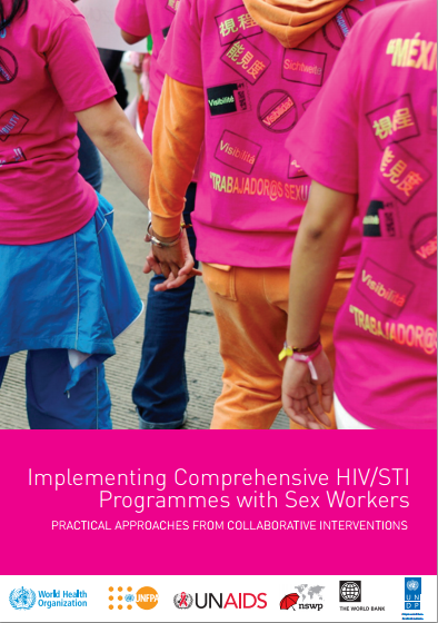Implementing comprehensive HIV STI programmes with sex workers IMAGE
