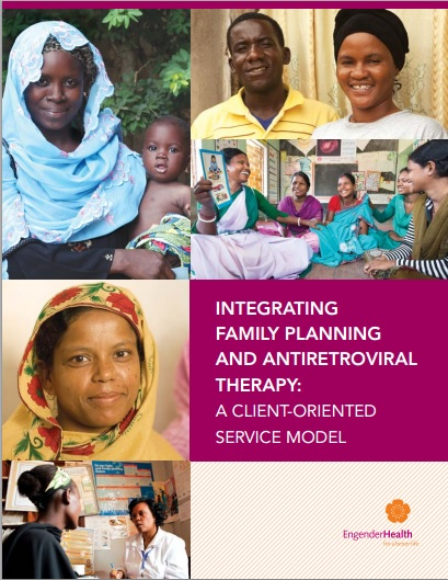 Programme Guide and Service Model for Integrating Family Planning and Antiretroviral Therapy Cover